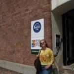Me outside the Beatles Museum
