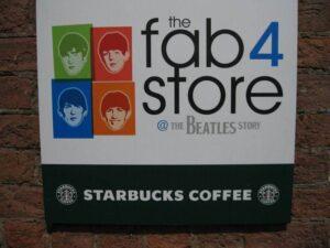 Beatles Museum Sign