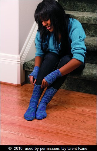 Beaded Socks and Wrist Warmers