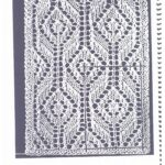 SUMMER OF LACE: Lace and Colorwork Wimple by Annie Modesitt 1