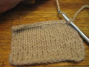 Lesson: Single Crochet Edging 2