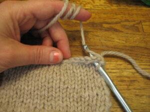 Lesson: Single Crochet Edging 3