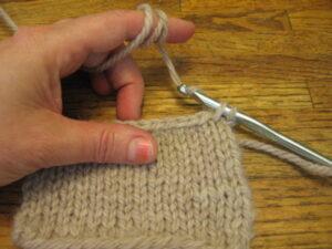 Lesson: Single Crochet Edging 4