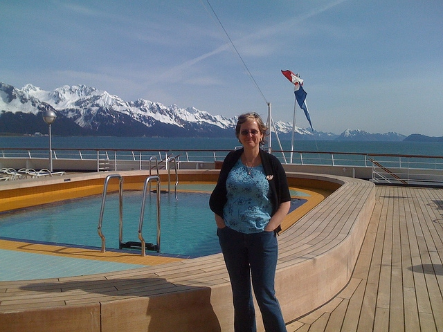 Donna Druchunas on Alaska Cruise