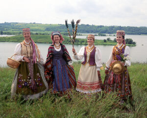 Lithuanian National Costume Recreations.