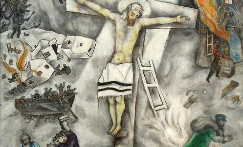 Marc Chagall White Crucifixion