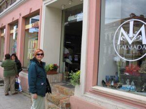 Shopping for Yarn in Vilnius