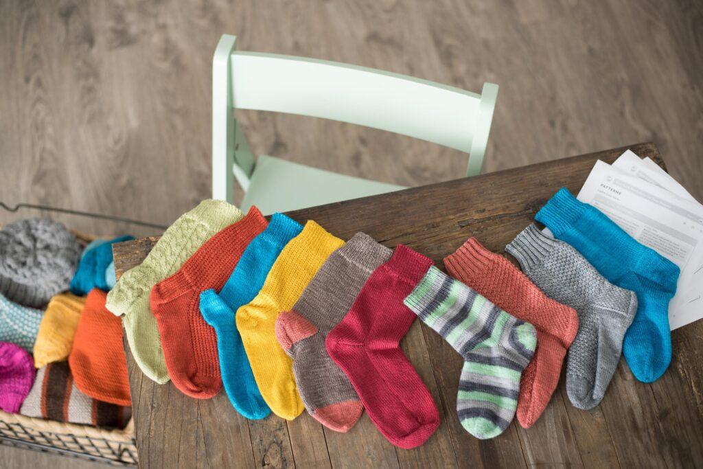 Socks My Way: samples 1