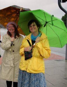 Susan Crawford and Donna Druchunas, England 2010