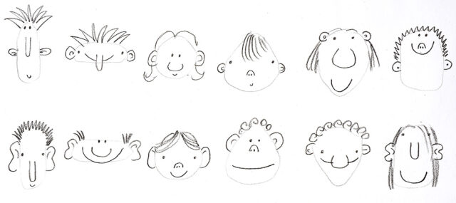 character-faces