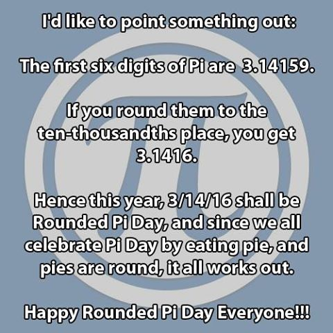 Rounded Pi Day