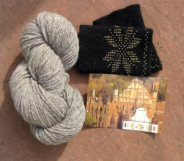 England, Lithuania, and Knitting