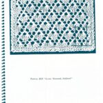 Eyelet Diamond Outlined Swatch by Dorothy Reade