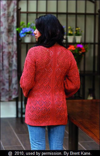 SUMMER OF LACE: Ripple and Bead Cardigan by Sauniell Conolly