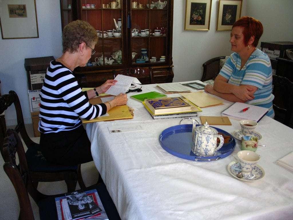 Donna Druchunas and Donna Nixon