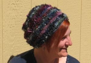 Free Pattern: 100 Meter Dash Hat