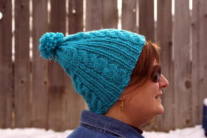 Free Pattern: Gail's Easy Cable Ski Cap
