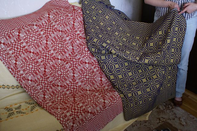 lithuanian hand-woven fabrics