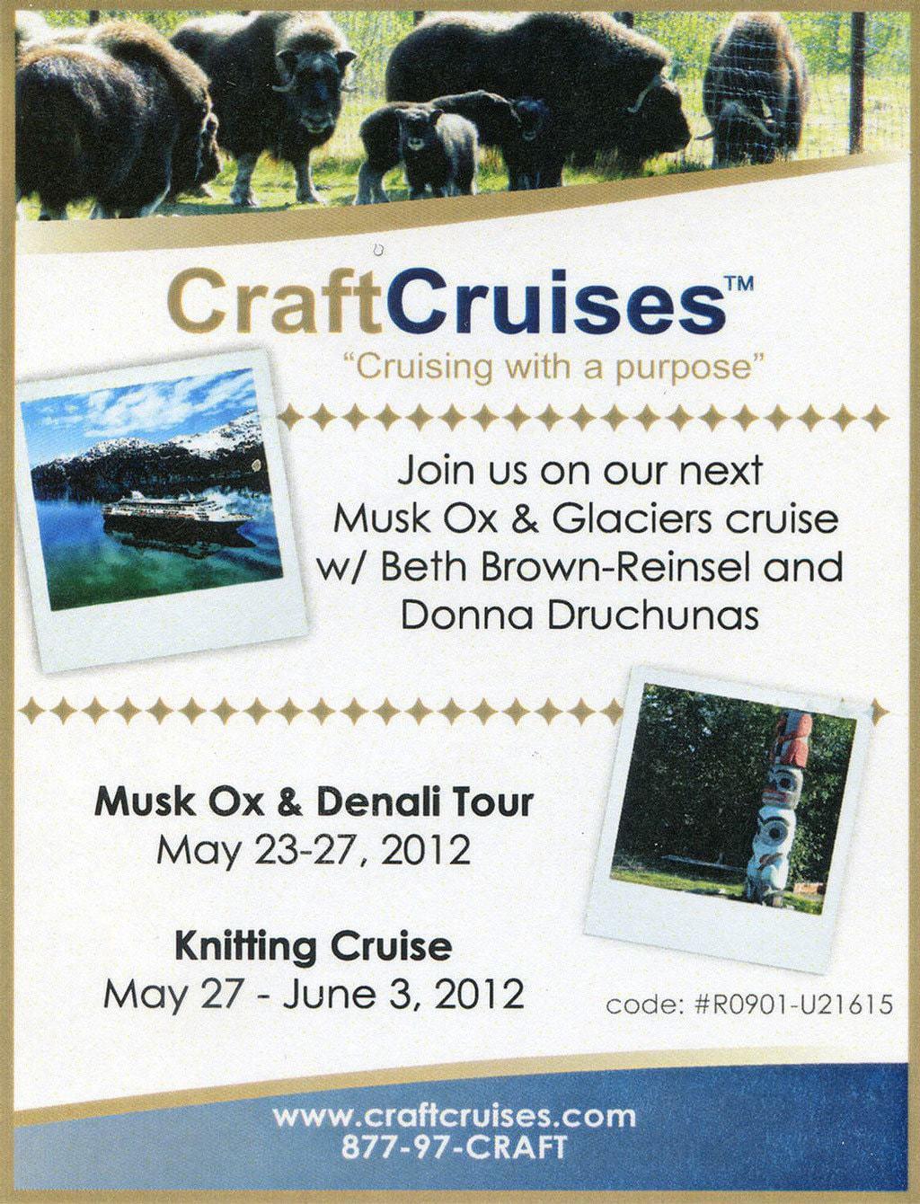 Craft Cruises with Donna Druchunas