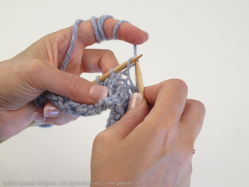Is it rude to knit?