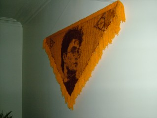The Harry Potter invisibility shawl
