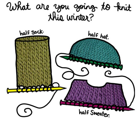 This is what you are going to knit this winter.