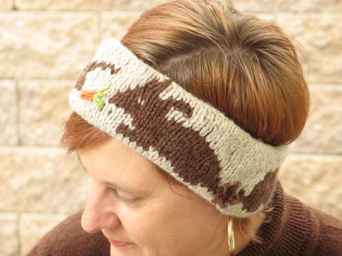 Free Pattern: Norwegian Bunny Headband