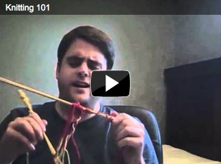 The video the WON'T help you knit.