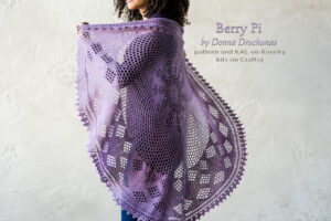 Berry Pi - Winter Shawl KAL 7