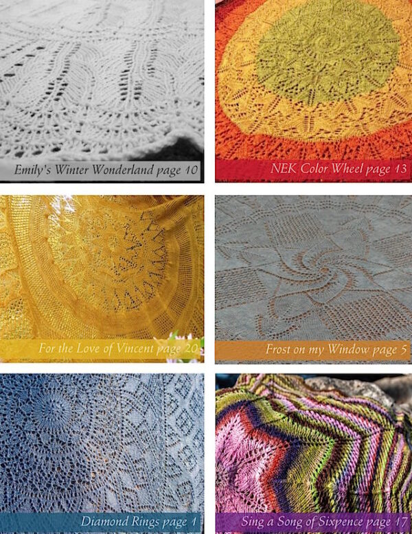 3.14159 Shawls: A Collection of Pi Shawl | EBOOK DOWNLOAD 4
