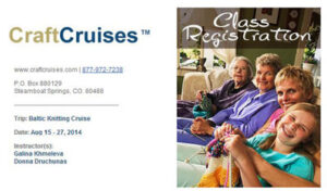 ALL ABOARD!! Let's all go on a knitting cruise