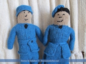 Toy Knitting in WWII