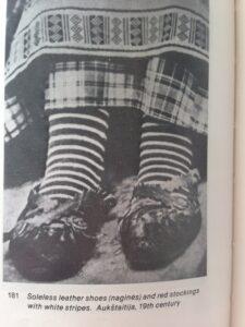 Vintage Striped Socks