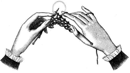 Praying with our hands (as we knit)