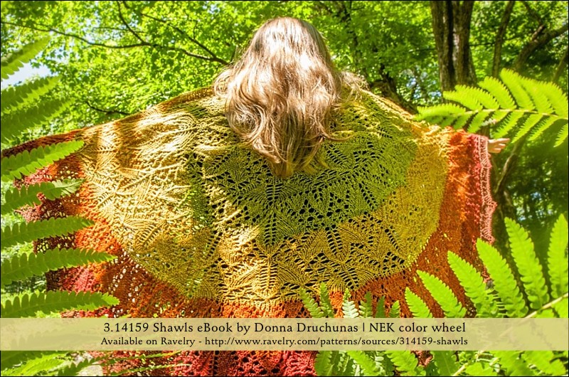 3.14159 Shawls: A Collection of Pi Shawl | EBOOK DOWNLOAD 6