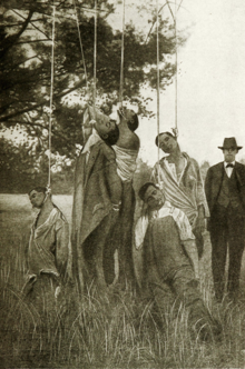 Six African-American men lynched in Lee County, Georgia, on January 20, 1916