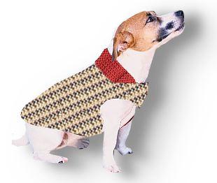 Garter Stitch Dog Jacket by Annie Modesitt