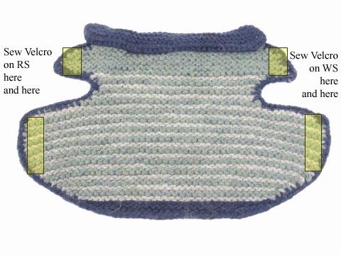 Garter Stitch Dog Jacket by Annie Modesitt 2