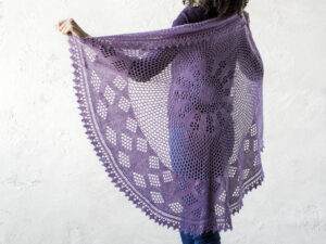 Berry Pi - Winter Shawl KAL 8