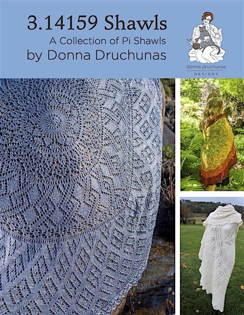 3.14159 Shawls: A Collection of Pi Shawl | EBOOK DOWNLOAD 1