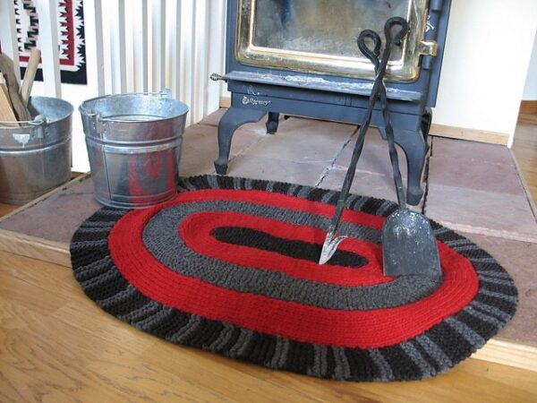 Amish Oval Rug | Knitting Pattern 1