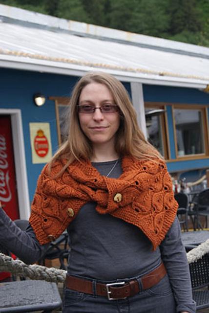 Belarus Hood Knitting Pattern 2