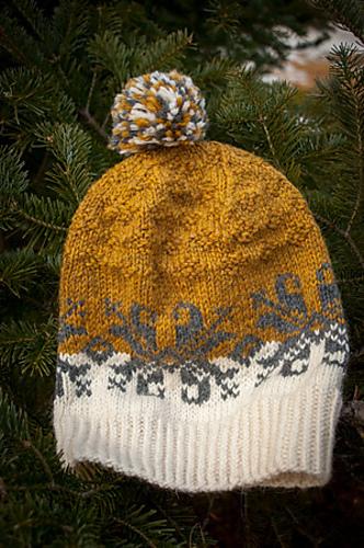 Baltic Amber Hat Knitting Pattern 2