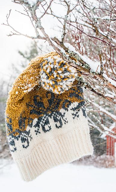 Baltic Amber Hat Knitting Pattern 7