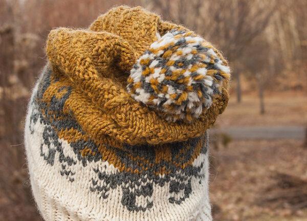 Baltic Amber Hat Knitting Pattern 4