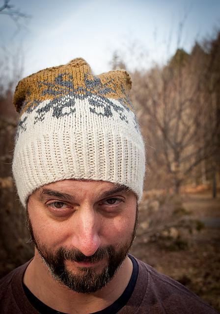 Baltic Amber Hat Knitting Pattern 6