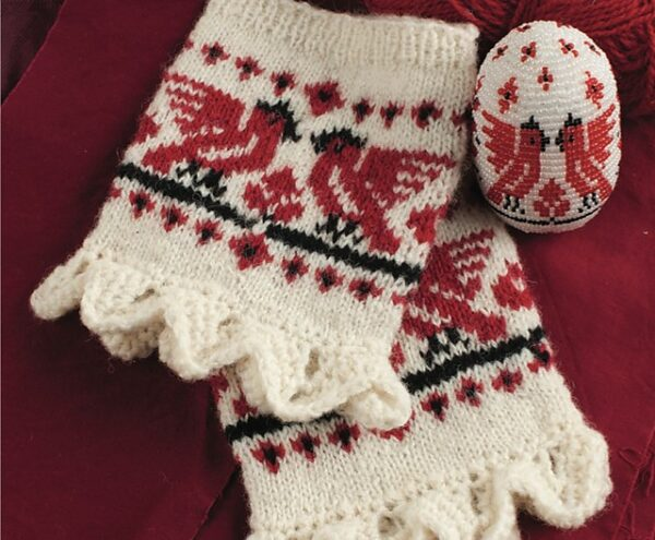 Belarusian Wrist Warmers Knitting Pattern 2