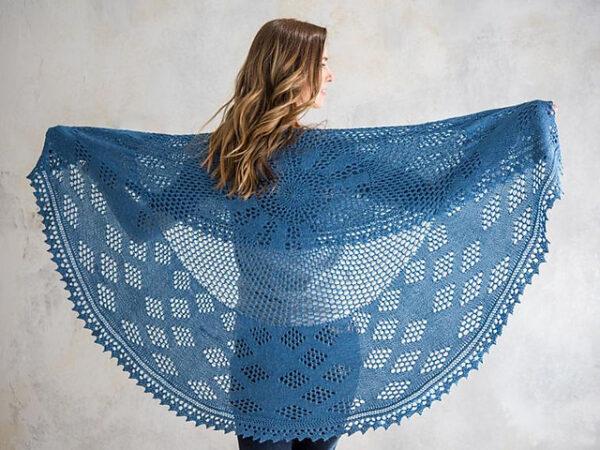 Berry Pi Shawl Knitting Pattern 6