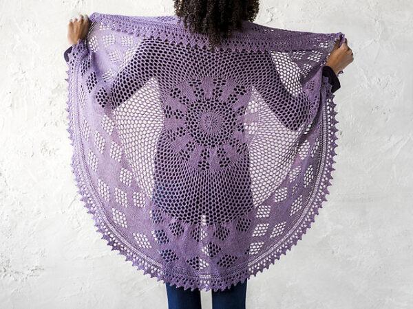 Berry Pi Shawl Knitting Pattern 3