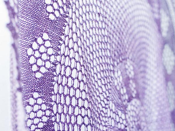 Berry Pi Shawl Knitting Pattern 2